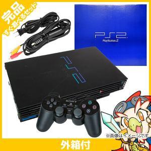 PS2 プレステ2 プレイステーション2 Playstation2 (SCPH-10000) 本体 完品 外箱付き PlayStation2 SONY ソニー 中古 送料無料|entameoukoku
