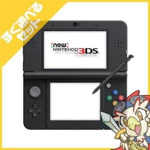 New3DS New ニンテンドー3DS ブラック(KTR-S-KAAA) 本体 すぐ遊べるセット Nintendo 任天堂 ニンテンドー 中古 送料無料|entameoukoku