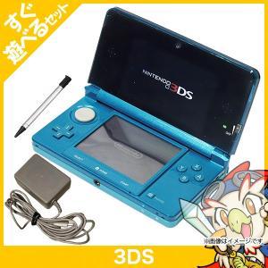 3DS アクアブルーCTR-S-BAAA 本体 すぐ遊べるセット 中古|entameoukoku
