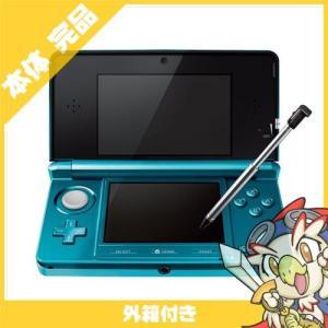 3DS ニンテンドー3DS 本体 完品 アクアブルー 中古 ...