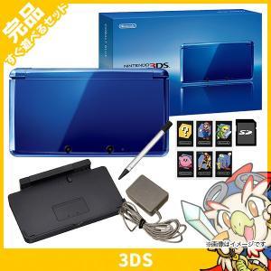 3DS ニンテンドー3DS 本体 完品 コバルトブルー 中古...