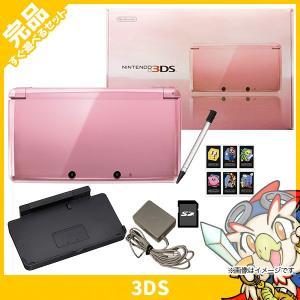 3DS ニンテンドー3DS 本体 完品 ミスティピンク 中古...