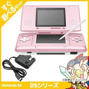 DS ニンテンドーDS キャンディピンク 本体 すぐ遊べるセット Nintendo 任天堂 ニンテンドー 中古 送料無料|entameoukoku