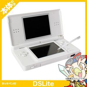 DS Lite クリスタルホワイトUSG-S-WA 本体のみ タッチペン付 中古|entameoukoku