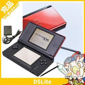 DSLite ニンテンドーDS Lite クリムゾン/ブラック USG-S-RMKA 本体 完品 外箱付き Nintendo 任天堂 ニンテンドー 中古 送料無料|entameoukoku