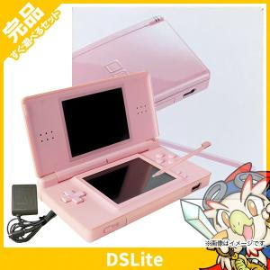 DSLite ニンテンドーDS Lite ノーブルピンクUSG-S-PA 本体 完品 外箱付き Nintendo 任天堂 ニンテンドー 中古 送料無料 entameoukoku
