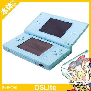 DSLite ニンテンドーDS Lite アイスブルーUSG-S-CBA 本体のみ タッチペン付き Nintendo 任天堂 ニンテンドー 中古 送料無料 entameoukoku