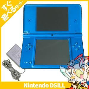 DSiLL ニンテンドーDSi LL ブルー 本体 すぐ遊べるセット Nintendo 任天堂 ニンテンドー 中古 送料無料|entameoukoku