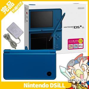 DSiLL ニンテンドーDSi LL ブルー 本体 完品 外箱付き Nintendo 任天堂 ニンテンドー 中古 送料無料|entameoukoku
