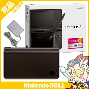 DSiLL ニンテンドーDSi LL ダークブラウンUTL-S-BRA 本体 完品 外箱付き Nintendo 任天堂 ニンテンドー 中古 送料無料|entameoukoku