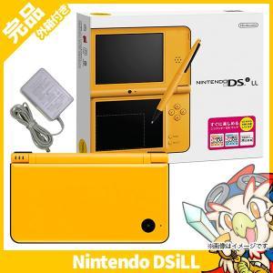 DSiLL ニンテンドーDSi LL イエローUTL-S-YKA 本体 完品 外箱付き Nintendo 任天堂 ニンテンドー 中古 送料無料|entameoukoku