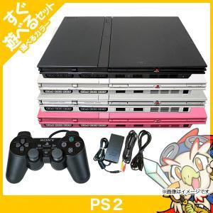 PS2 本体  純正 コントローラー 1個付き すぐ遊べる プレステ2 SCPH 77000CB CW SS PK