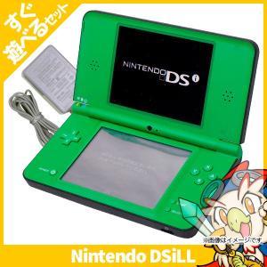 DSiLL ニンテンドーDSi LL グリーンUTL-S-MKA 本体 すぐ遊べるセット Nintendo 任天堂 ニンテンドー 中古 送料無料|entameoukoku