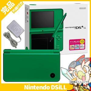 DSiLL ニンテンドーDSi LL グリーンUTL-S-MKA 本体 完品 外箱付き Nintendo 任天堂 ニンテンドー 中古 送料無料|entameoukoku