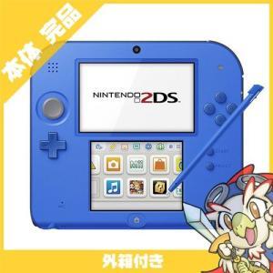 2DS ニンテンドー2DS ブルーFTR-S-BCAA 本体 完品 外箱付き Nintendo 任天堂 ニンテンドー 中古 送料無料|entameoukoku