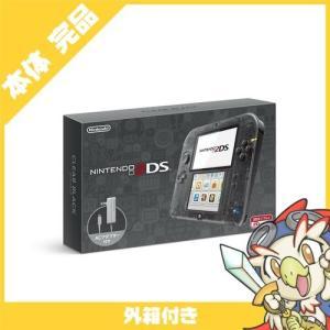 2DS ニンテンドー2DS クリアブラックFTR-S-KCAA 本体 完品 外箱付き Nintendo 任天堂 ニンテンドー 中古 送料無料|entameoukoku
