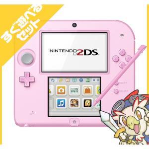 2DS ニンテンドー2DS ピンクFTR-S-PBAA 本体 すぐ遊べるセット Nintendo 任天堂 ニンテンドー 中古 送料無料|entameoukoku