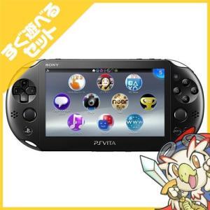 PSVita 2000 PlayStation Vita Wi-Fiモデル ブラック (PCH-2000ZA11) 本体 すぐ遊べるセット PlayStationVita SONY ソニー 中古 送料無料|entameoukoku