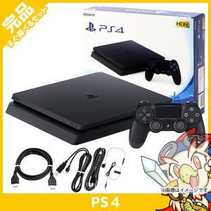 PS4 本体 ジェット・ブラック 500GB (CUH-2200AB01) 完品 中古|entameoukoku
