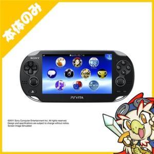 PSVita PlayStation Vita 3G/Wi‐Fiモデル クリスタル・ブラック (PCH-1100 AA01) 本体のみ PlayStationVita SONY ソニー 中古|entameoukoku