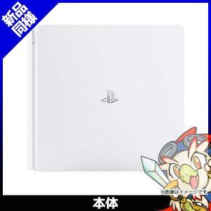 PS4 プレステ4 プレイステーション4 PlayStation4 本体 500GB CUH-2000AB02 グレイシャー・ホワイト 新品同様|entameoukoku
