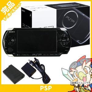 PSP 3000 ピアノ・ブラック(PSP-3000PB) 本体 完品 外箱付き PlayStationPortable SONY ソニー 中古 送料無料|entameoukoku