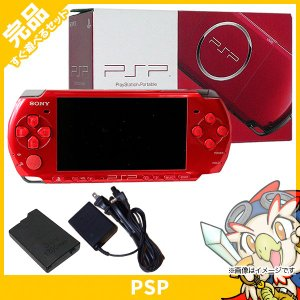 PSP 3000 ラディアント・レッド (PSP-3000RR) 本体 完品 外箱付き PlayStationPortable SONY ソニー 中古 送料無料|entameoukoku