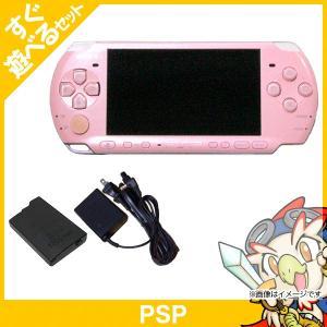 PSP 3000 ブロッサム・ピンク (PSP-3000ZP) 本体 すぐ遊べるセット PlayStationPortable SONY ソニー 中古 送料無料|entameoukoku
