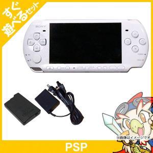 PSP 3000 パール・ホワイト(PSP-3000PW) 本体 すぐ遊べるセット PlayStationPortable SONY ソニー 中古 送料無料|entameoukoku
