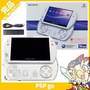 PSPgo PSP go パール・ホワイト (PSP-N1000PW) 本体 完品 外箱付き PlayStationPortable SONY ソニー 中古 送料無料 entameoukoku