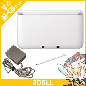 3DSLL ニンテンドー3DS LL ホワイト 本体 すぐ遊べるセット Nintendo 任天堂 ニンテンドー 中古 送料無料|entameoukoku