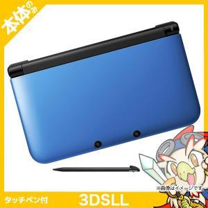3DS LL ブルーXブラック 本体のみ タッチペン付き 中古|entameoukoku