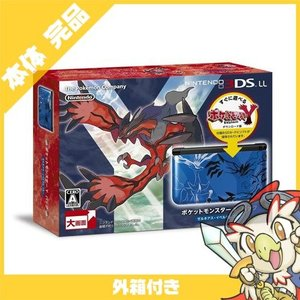 3DSLL ニンテンドー3DS LL ポケットモンスター Yパック ゼルネアス・イベルタル ブルー本体 完品 外箱付き Nintendo 任天堂 ニンテンドー 中古 送料無料|entameoukoku