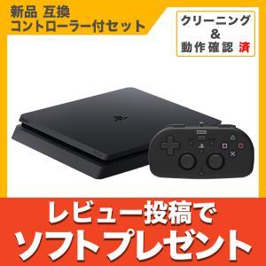 PS4 本体 新品互換 コントローラー付き プレステ4 本体 500GB 選べる CUH-2000 ...