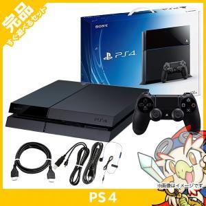 PS4 プレステ4 プレイステーション4 ジェット・ブラック 500GB (CUH-1000AB01) 本体 完品 外箱付き PlayStation4 SONY ソニー 中古 送料無料|entameoukoku