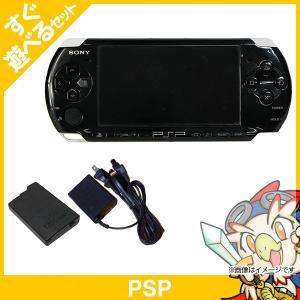 PSP 本体 PSP-3000PB ピアノ・ブラック PSP-3000 すぐ遊べるセット プレイステーションポータブル ゲーム機 中古 送料無料|entameoukoku