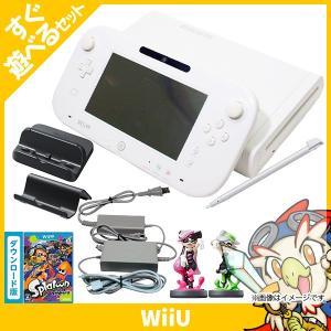 WiiU ニンテンドーWiiU Wii U スプラトゥーン セット (amiibo アオリ・ホタル付...