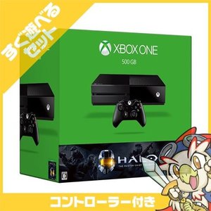 XboxOne Xbox One 500GB (Halo: The Master Chief Collection 同梱版) 5C6-00098 本体 すぐ遊べるセット コントローラー付き マイクロソフト 中古 送料無料|entameoukoku