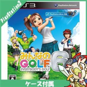 PS3 プレステ3 プレイステーション3 みんなのGOLF 6 ソフト ケースあり PlayStation3 SONY ソニー 中古 送料無料|entameoukoku