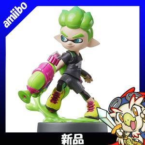 アミーボ amiibo ボーイ ネオングリーン スプラトゥーン2 (スプラトゥーンシリーズ) 新品同様 Nintendo 任天堂 ニンテンドー|entameoukoku