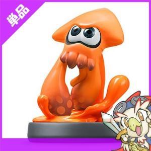 WiiU ニンテンドーWiiU amiibo イカ オレンジ スプラトゥーンシリーズ スプラトゥーン アミーボ 周辺機器 Nintendo 任天堂 ニンテンドー 中古|entameoukoku