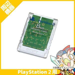 PS2 プレステ2 プレイステーション2 メモリーカード 8MB クリスタル 周辺機器【中古】