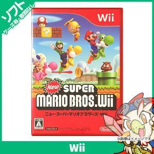 Wii New スーパーマリオブラザーズ ソフト 中古