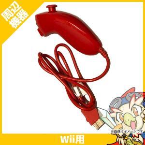 Wii ウィー ヌンチャク アカ コントローラ 純正 ニンテンドー 任天堂 Nintendo 中古 送料無料 entameoukoku