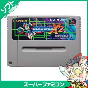スーパーファミコン ロックマンX2 ソフトのみ ソフト単品 中古|entameoukoku