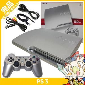 PS3 プレステ3 プレイステーション3 サテンシルバー シルバー 160GB CECH-2500A SS 本体 完品 外箱付き PlayStation3 SONY ソニー 中古 送料無料|entameoukoku
