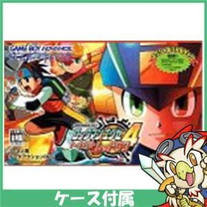 GBA ゲームボーイアドバンス ロックマンエグゼ4 トーナメント レッドサン ソフト ケースあり Nintendo 任天堂 ニンテンドー 中古 送料無料|entameoukoku