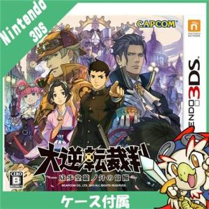 3DS 大逆転裁判 -成歩堂龍ノ介の冒險- - 3DS ソフト ケースあり Nintendo 任天堂 ニンテンドー 中古 送料無料|entameoukoku