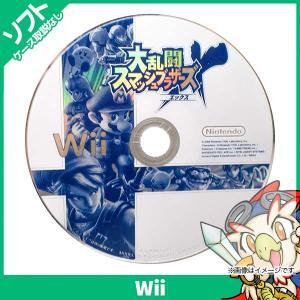 Wii 大乱闘スマッシュブラザーズX スマブラ ソフト のみ Nintendo 任天堂 ニンテンドー 中古|entameoukoku