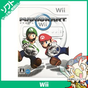 Wii マリオカートWii マリカー ソフト単品 中古